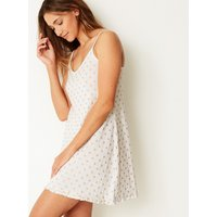 M&s Collection Glitter Star Print Chemise