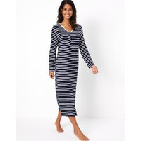 M&S Collection Striped Nightdress