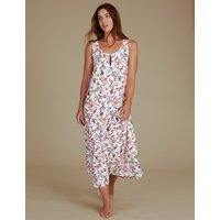 M&S Collection Printed Long Nightdress