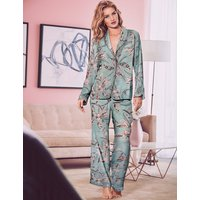 Rosie for Autograph Satin Printed Long Sleeve Pyjama Set