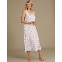 M&S Collection Floral Print Jersey Nightdress
