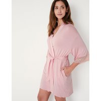 M&s Collection Sumptuously Soft Short Dressing Gown