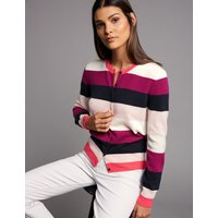 Autograph Pure Cashmere Colour Block Cardigan