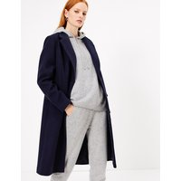Autograph Cashmere Relaxed Fit Hoodie