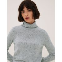 Autograph Pure Cashmere Roll Neck Jumper