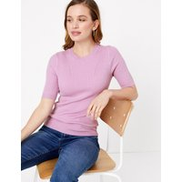 MandS Collection PETITE Ribbed Jumper