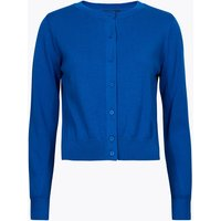 MandS Collection Pure Cotton Crew Neck Fitted Cardigan