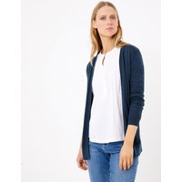 MandS Collection Pure Cotton Relaxed Cardigan