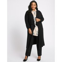M&S Collection CURVE Waterfall Longline Cardigan