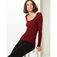 Limited Edition Textured Scoop Neck Jumper