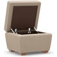 M&S Nantucket Storage Footstool - 1SIZE