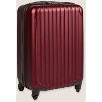M&S Scorpio 4 Wheel Hard Shell Cabin Suitcase - 1SIZE - Navy, Navy,Gunmetal,Cranberry,Rose