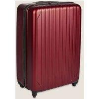 MandS Scorpio 4 Wheel Hard Shell Large Suitcase - 1SIZE - Gunmetal, Gunmetal,Cranberry,Navy,Rose