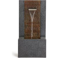 Natural Single Spout Lit Water Feature