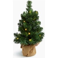 1.5ft Pre Lit Nordic Spruce Christmas Tree