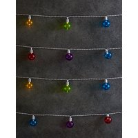 20 Multi Colour Festoon Solar Lights