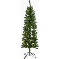 6ft Pre Lit Slim Nordic Christmas Tree