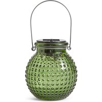 Small Green Solar Jar Light