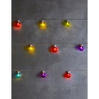 20 Multi-Coloured Festoon Lights