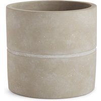 18cm Large Grey Raw Planter