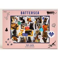 M&S 500 Piece Battersea Cats Jigsaw - 1SIZE