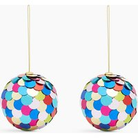 2 Pack Sequin Baubles