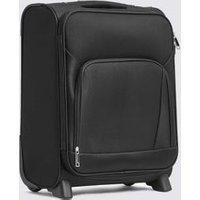 M&S Harris 2 Wheel Soft Cabin Suitcase - 1SIZE - Black, Black