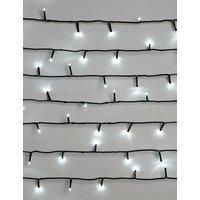 100 Bright White Remote Control Lights