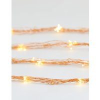 6Ft Cascading Copper Wire Lights