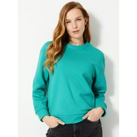 M&S Collection Cotton Rich Long Sleeve Sweatshirt
