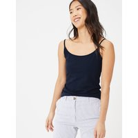 MandS Collection Cotton Rich Fitted Camisole Top