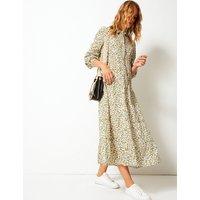 Per Una Pure Cotton Tiered Maxi Shirt Dress