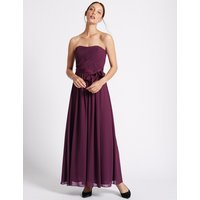 M&S Collection Detachable Straps Pleated Maxi Dress