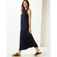 M&S Collection Round Neck Swing Midi Dress