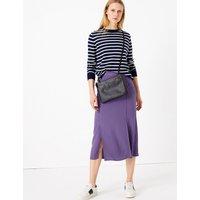 MandS Collection Split Front Pencil Midi Skirt