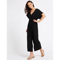M&S Collection Short Sleeve Jumpsuit