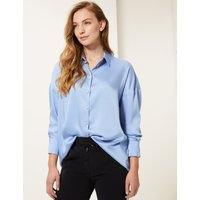 M&S Collection Oversized Long Sleeve Shirt