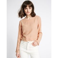 Limited Edition Round Neck Long Sleeve Blouse