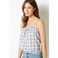 M&S Collection Checked Square Neck Camisole Top