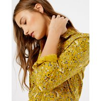 MandS Collection Pima Cotton Floral Print Shirt