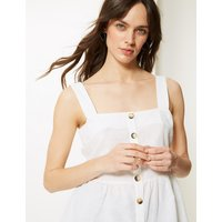 M&S Collection Square Neck Camisole Top