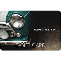 Classic Car E-Gift Card