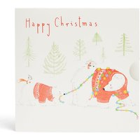 Polar Bear in Lights Gift Card