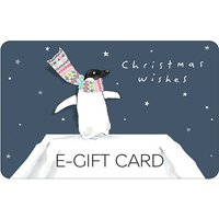 Penguin in Scarf E-Gift Card.