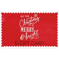 Christmas Text E-Gift Card.