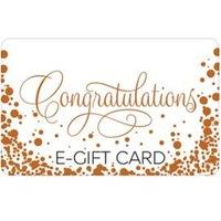 M&S Congratulations Bubbles E-Gift Card - 100