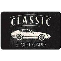 M&S Classic Car E-Gift Card - 250