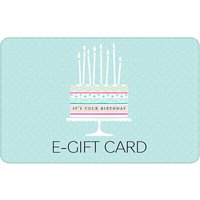It's your Birthday Cake E-Gift Card