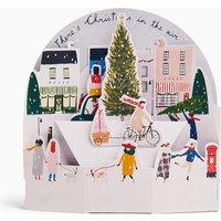 3D Town Scene Gift Card.