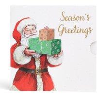 Santa with Presents Gift Card.